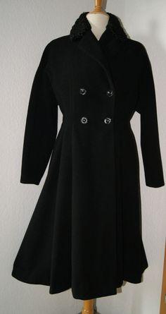 1950s Vintage Mantel   New Look   Gr. 40