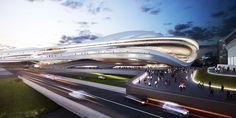 Архитектурная заявка Токио на Олимпиаду - 2020    Проект новой Национальной арены в столице Японии, представленный Zaha Hadid Architects, ...