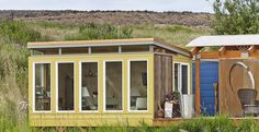 12 x 16 outdoor living Tiny Guest House, Tiny House Blog, Tiny House Nation, Modern Shed, Large Sheds, Beach Bungalows, Granny Flat, Small Homes, Prefab