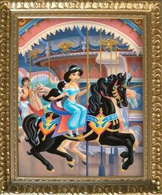 A Royal Carousel: JASMINE by Maggie Parr