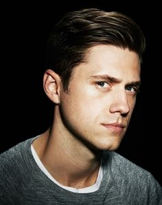 Aaron Tveit, photographed by Chad Griffith, 2013.