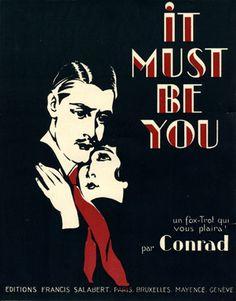 It must be you, 1920 (ill.: [ Roger De Valerio ]); ref. 2257