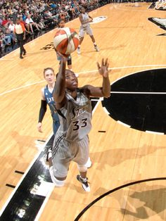 NEWS: Sophia Young Earns Western Conference Player of the Week Western Conference, Wnba, Basketball Court, News