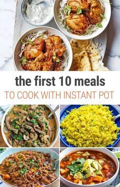 First 10 Meals To Make In Your Instant Pot As A Beginner The First 10 Meals You Should Make In Your Instant Pot Pressure Cooker - Great list for beginners!The First 10 Meals You Should Make In Your Instant Pot Pressure Cooker - Great list for beginners! Instant Pot Pasta Recipe, Best Instant Pot Recipe, Instant Pot Dinner Recipes, Recipes Dinner, Instant Pot Meals, Instant Pot Chinese Recipes, Dinner Ideas, Instant Recipes, Slow Cooker Recipes