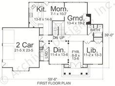Hatheway House Plan - First Floor Plan OK
