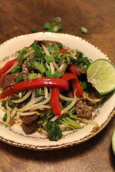 The taste of Myriam !: Stir fry beef & Curry sauce | Sauté de bœuf & Sauc...