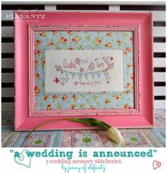 wedding memory stitchery jenny of elefantz marriage sampler main