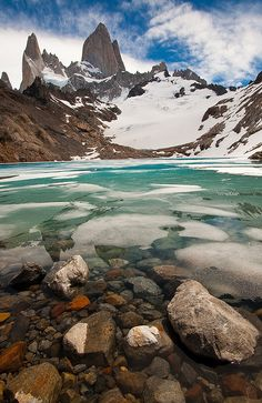 I will see you one day...Laguna de los Tres, Argentina