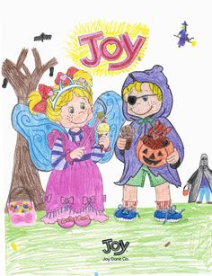 Coloring submission from Kylie, age 10 from IA! | Joy Coloring ...