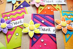 Mini Thank You Cards (MLS Project)