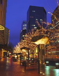Who would like to stroll under the street lights in downtown PDX this winter?