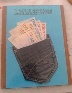 Skal du til konfirmation og mangler du inspiration til pengegaver til konfirmanden - så se med her! Homemade Gifts, Homemade Cards, Diy Gifts, Paper Cards, Diy Cards, Creative Money Gifts, Present Wrapping, Diy Projects To Try, Cool Diy