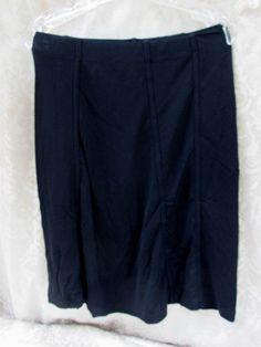 Womens Black Skirt Wolff Style 499 Size Small NWT  #Wolff #FullSkirt