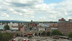 View from the Stockport Viaduct
