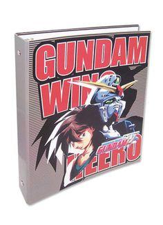 Binder - Gundam Wing - New Wing Zero Heero Stationery Folder ge89157