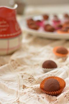 Chocolate Olive Oil and Fleur de Sel Truffles