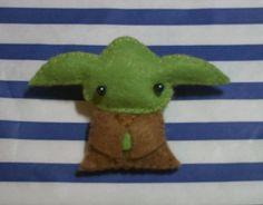 Yoda brooch