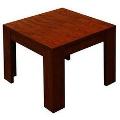 Boss N22-M 22-Inch by 22-Inch Mahogany End Table Corner table. All surfaces laminated with thermal fused melamine in mahogany. All edges banded with matching 3mm ppvc.  #BOSS #Home