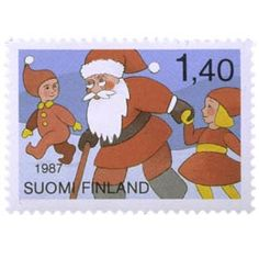 Postimerkki: Joulupukki | Suomen postimerkit Finland, Stamps, Family Guy, Christmas, Fictional Characters, Art, Seals, Xmas, Art Background