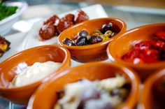 Tapas. Barcelona. One of the great things about Barcelona is the food - wander from bar to bar enjoying different tapas