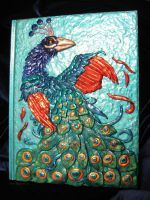 Peacock Book by sunhawk