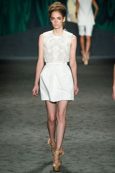 look 6 - Vera Wang Spring 2013 Ready-to-Wear Collection Slideshow on Style.com