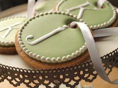 Loving the ribbon - sugar cookies - Ali Bee's Bake Shop