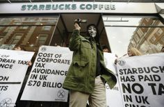 STARBUCKS: Do as I say, not........... --------------------------------------------- Costa opens three outlets a week as it taps into growing coffee shop culture and backlash against US rival Starbucks.Costa UK sales rose by 16.5 per cent last year to £807.7million, while Starbucks suffered its first fall during 16 years of operating in Britain as it was hit by boycotts and criticism over the low levels of tax it was paying.