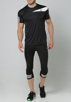adidas Performance Tights - black/white - Zalando.de