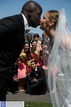 www.RickHelmanPhoto.com  Bridal party wedding photo, New York