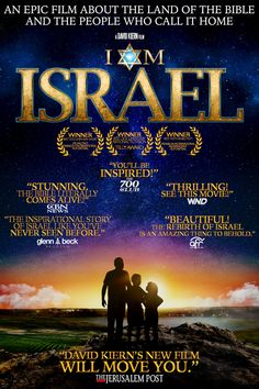 """Narrated by acclaimed actor John Rhys-Davies, filmed in stunning and featuring a soaring orchestral film score, """"I Am Israel"""" brings to life the epic story of the Land of the Bible like you've never seen before. Beau Film, Religion, Bible Scriptures, Bible Quotes, Film Trailer, Yoga Kurse, Christian Films, Epic Film, Films Cinema"""