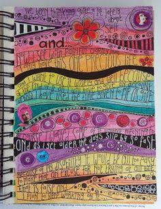Rosie's Arty Stuff: HOW TO ART JOURNAL?
