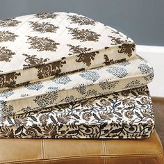 Quilted Chair Cushion, available at ballarddesigns.com