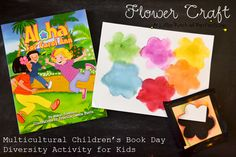A Little Pinch of Perfect: Flower Craft + Multicultural Children's Book Day