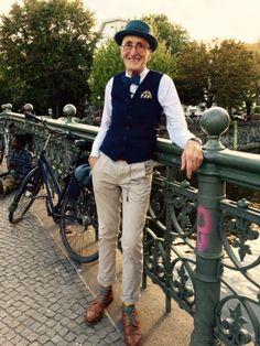 Kein Hipster, trotzdem hip: Günther Anton Krabbenhöft aus Berlin.