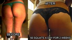 50 squats a day for two weeks