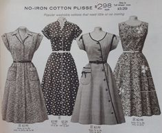 1950s House Dresses and Aprons History