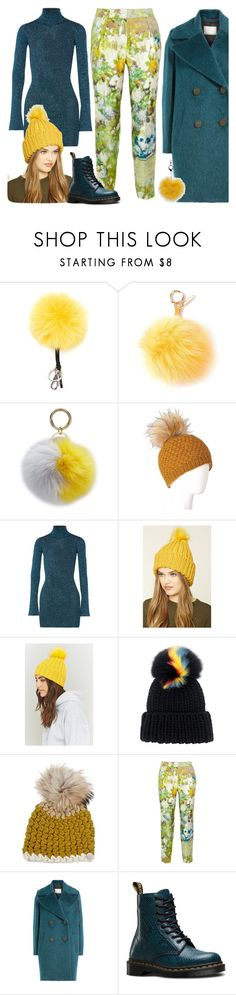 """""""GREEN, BLUE & YELLOW PANTONE COLORS!"""" by yours-styling-best-friend ❤ liked on Polyvore featuring Fendi, Iphoria, Laundromat, By Malene Birger, Forever 21, Eugenia Kim, Mischa Lampert, Dr. Martens and Warehouse"""