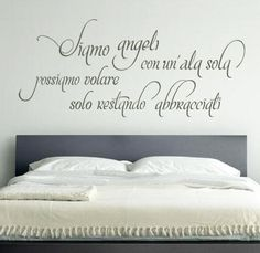 Wall Stickers Romantic, Wall Stickers Love, Romantic Quotes, Love Quotes, Orange, Bed Pillows, Wall Art, Home Decor, Google