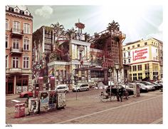 Flora Hamburg . Sketchup - Vray - Photoshop - 3d visualization
