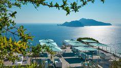 Capri view @ Relais Blu | Massa Lubrense | Sorrento | Italy