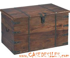Wood Crafts, Diy And Crafts, Old Trunks, Wooden Chest, Wood Boxes, Hope Chest, Home Bedroom, Wood Projects, Woodworking
