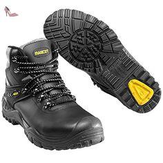 Mascot F0074-902-0907-1145 Elbrus Chaussures de sécurité Taille W11/45 Noir - Chaussures mascot (*Partner-Link)