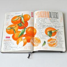 Recipe journal 2014 on Behance