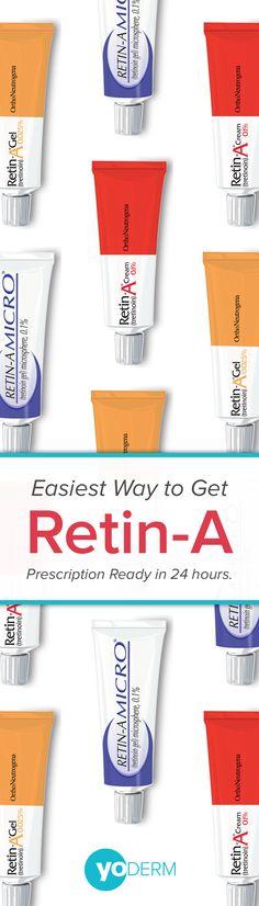 Get retin a prescription online