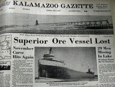 edmund fitzgerald shipwreck | AquaLog: 35th Anniversary of Sinking of Edmund Fitzgerald