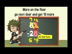 Go Next Door (Subtraction with Regrouping song) by EDROCKER