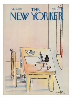 Andre Francois New Yorker Covers, Posters and Prints at Art.com