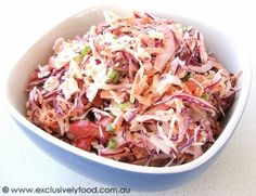 Exclusively Food: Coleslaw Recipe