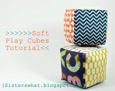 Soft Play Cubes Tutorial